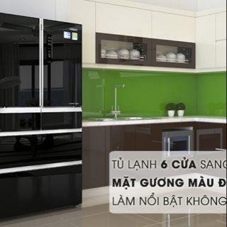 Tủ lạnh AQUA inverter 515 lít AQR-IG686AM GB. NEW