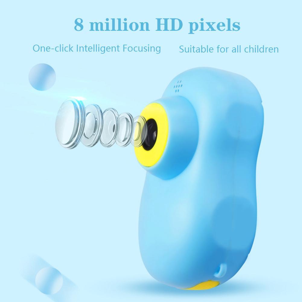 X8 HD Timing Mini Cartoon Battery Operated Photograph Toy Lightweight Face Digital Kids Camera