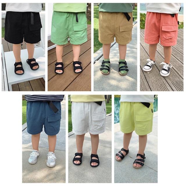 Quần kaki mềm 7 màu cho bé