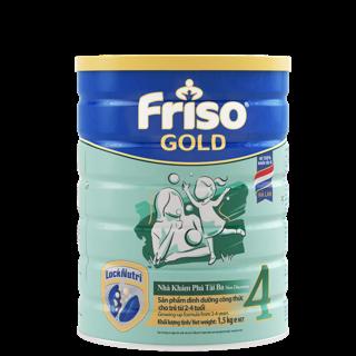 [Mã FMCGMALL giảm 8% đơn 250K] Sữa bột FRISO GOLD 4 1500G thumbnail