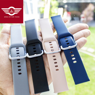 Dây đồng hồ silicon chốt thông minh 20mm 22mm Samsung Galaxy Watch 1 3, Active 1 2, Gear S2 S3, Gear Sport thumbnail