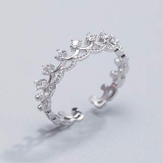 Nhẫn bạc nữ S925 Bảo Ngọc Jewelry N2455 cao cấp