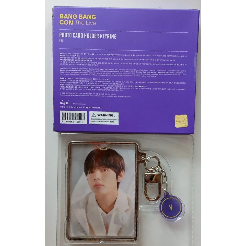 Móc khóa kèm ảnh - Quà Bang Bang Con The Live - Photocard holder Keyring