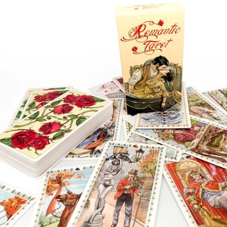 [Mã TOY88 giảm 15% đơn 99K] [Tarotscopes]Bộ bài Romantic Tarot