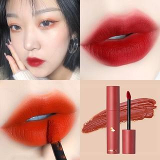 FAICCIA Vitamins Moisturize Lip Glaze Son lì Son tint Son môi Son bóng Velvet Matte Lip Gloss Moisturizing Waterproof Lipstick