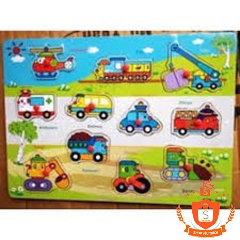 Bảng học các phương tiện giao thông mẫu 2 cho bé Vivitoys 085 - BẮC TỪ LIÊM