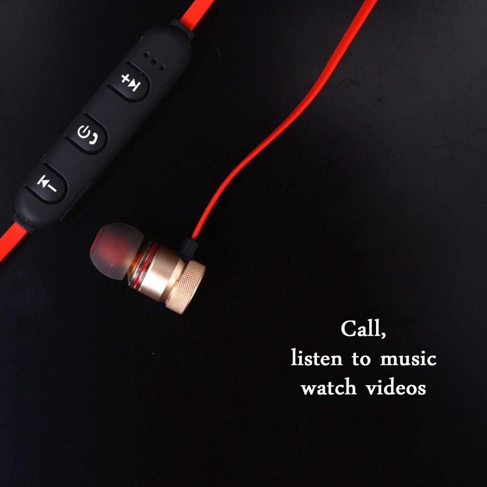 Tai nghe Bluetooth thể thao thiết kế hít nam châm cho Huawei iOS đa năng