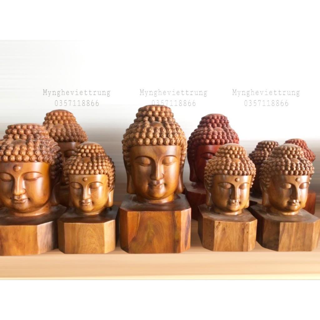 Diện Phật Thích Ca Mâu Ni Gỗ Bách Xanh, Tượng Gỗ