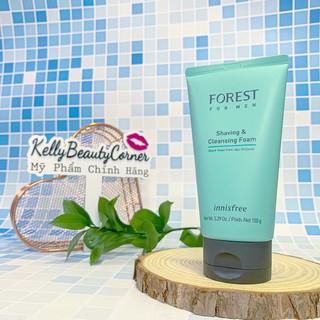 Sữa Rửa Mặt Nam Innisfree Forest For Men Shaving & Cleansing Foam