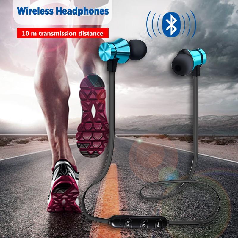 Tai nghe nhét tai bluetooth XT11 từ tính phong cách thể thao chống thấm nước tích hợp micro