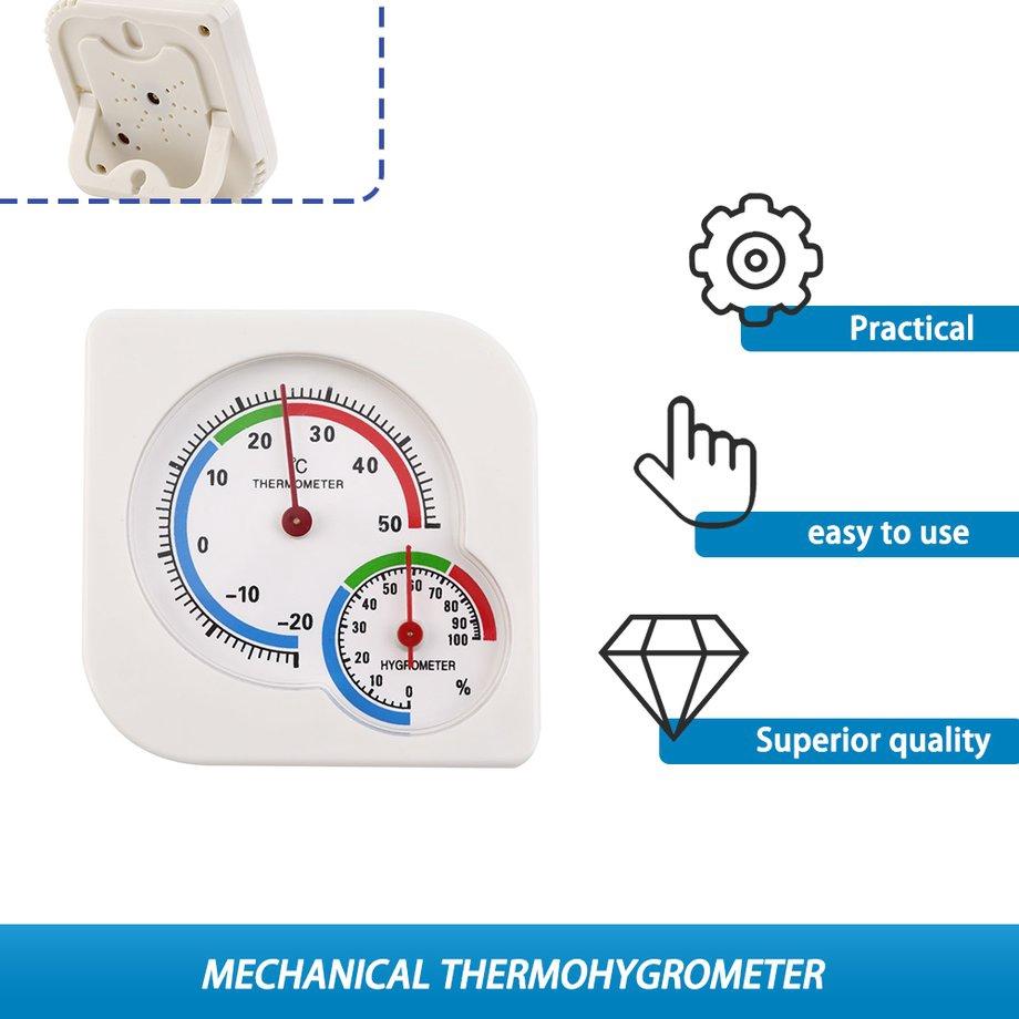 Indoor Outdoor MIni Wet Hygrometer Humidity Thermometer Temperature Meter