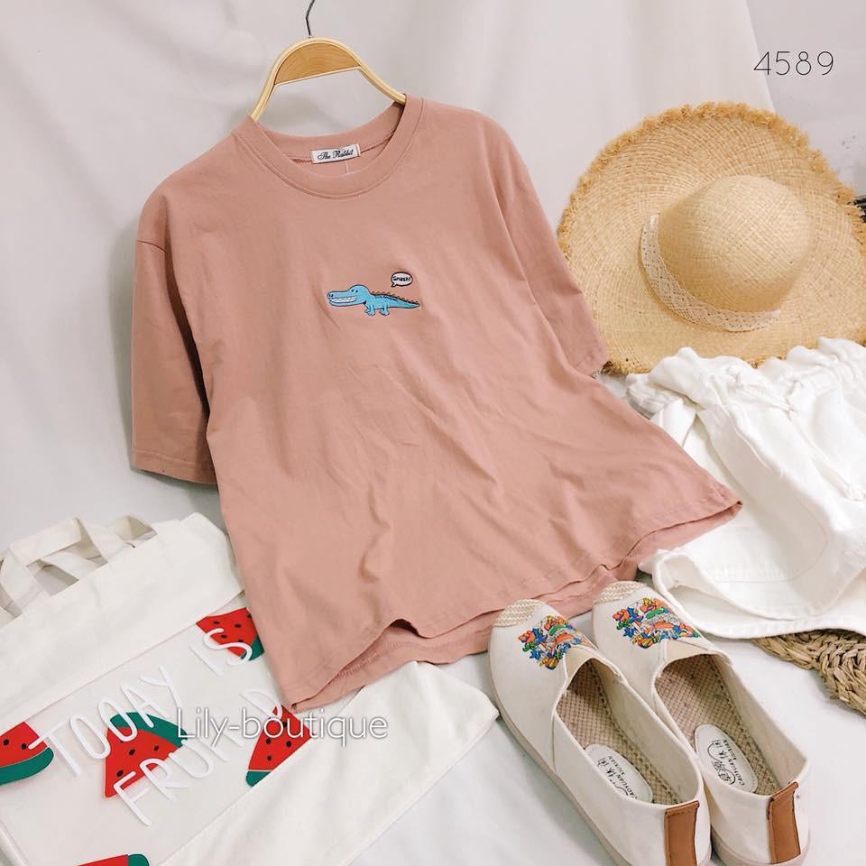 áo phông thái cá sấu Gnashi