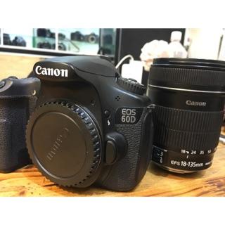 Combo Máy ảnh Canon 60D kèm 18-135mm is. Kèm flashNissin Di 700A+ pin sạc.