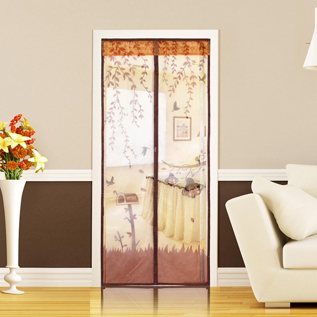 Lưới rèm cửa rèm cửa từ miễn phí chống muỗi côn trùng bay rèm rèm lưới tự động đóng cửa nhà bếp màn hình hoa