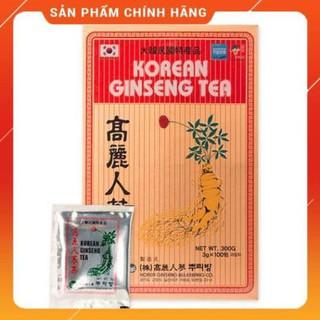 Trà hồng sâm Hàn Quốc Buleebang hộp 100 gói