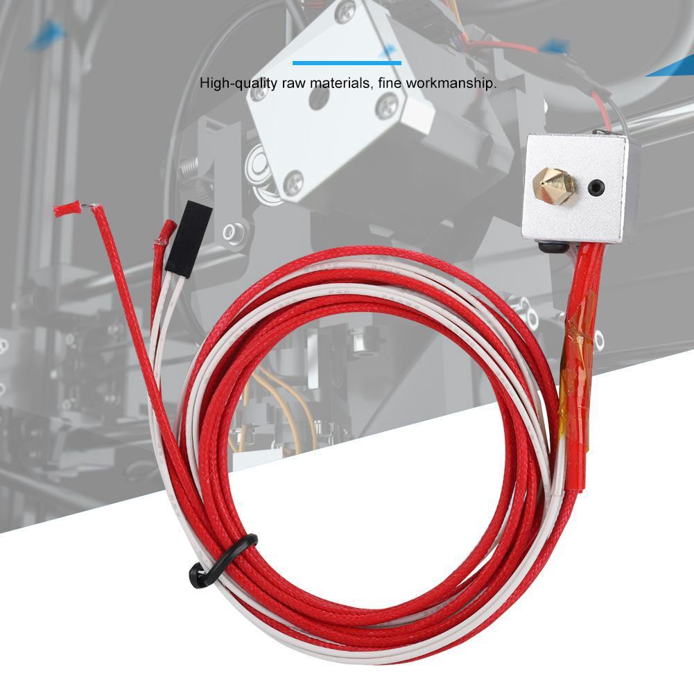 Bộ phụ kiện đầu phun MK8 bằng thép không gỉ cho máy in 3D thumbnail