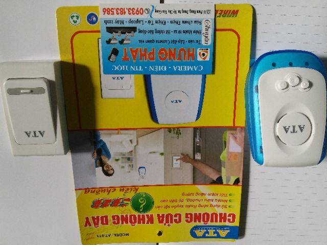 Chuông cửa không dây ATA AT913