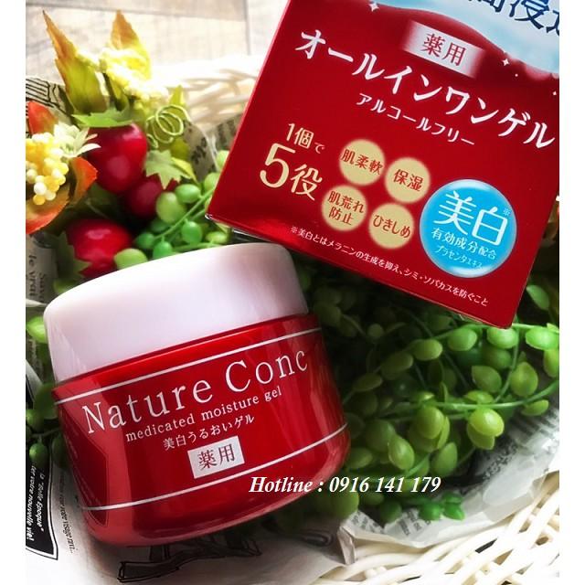 Gel dưỡng ẩm Naris Up Nature Conc Medicated Moisture Gel