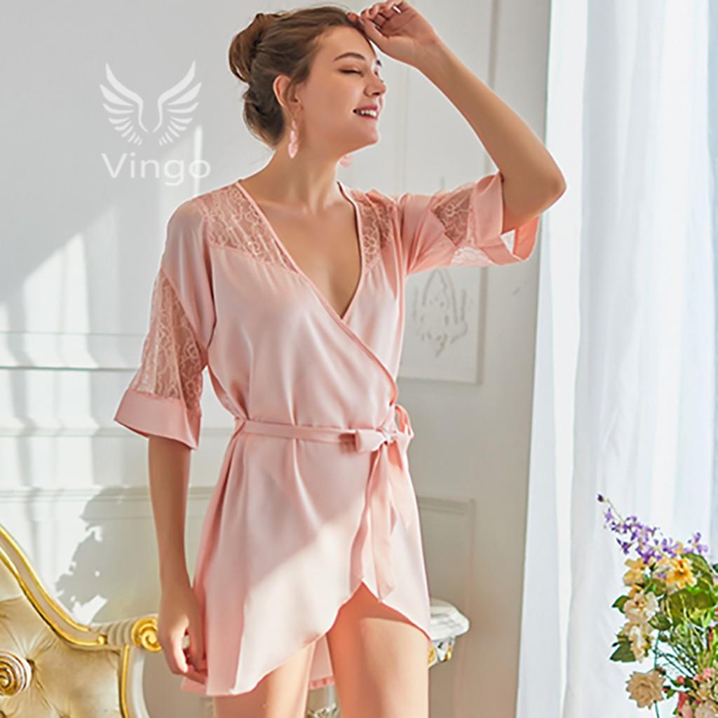 Áo Choàng Giả Váy Cao Cấp Helena Gợi Cảm Thương Hiệu Vingo