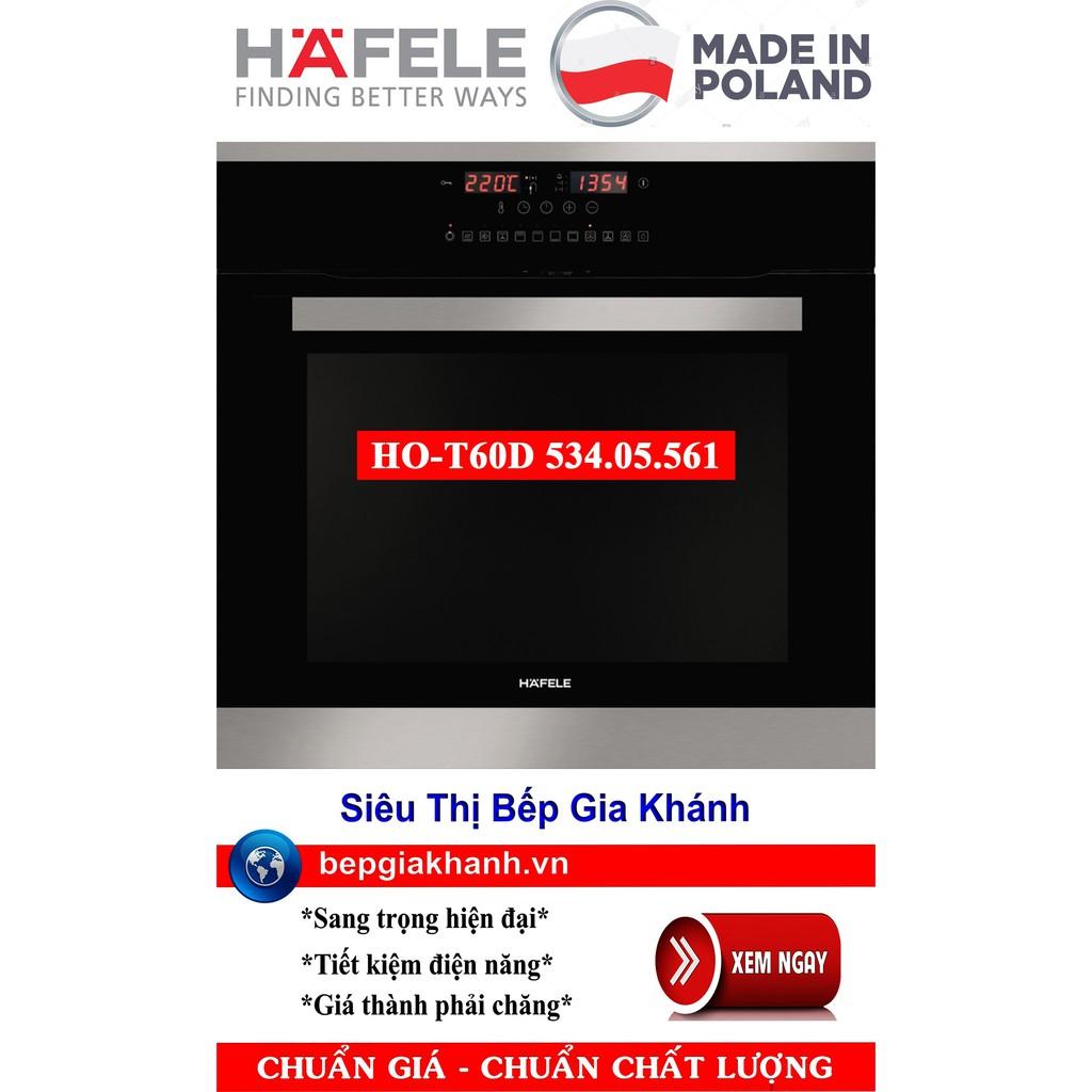 Lò nướng âm tủ cao cấp Hafele HO-T60D 534.05.561 nhập khẩu Ba Lan