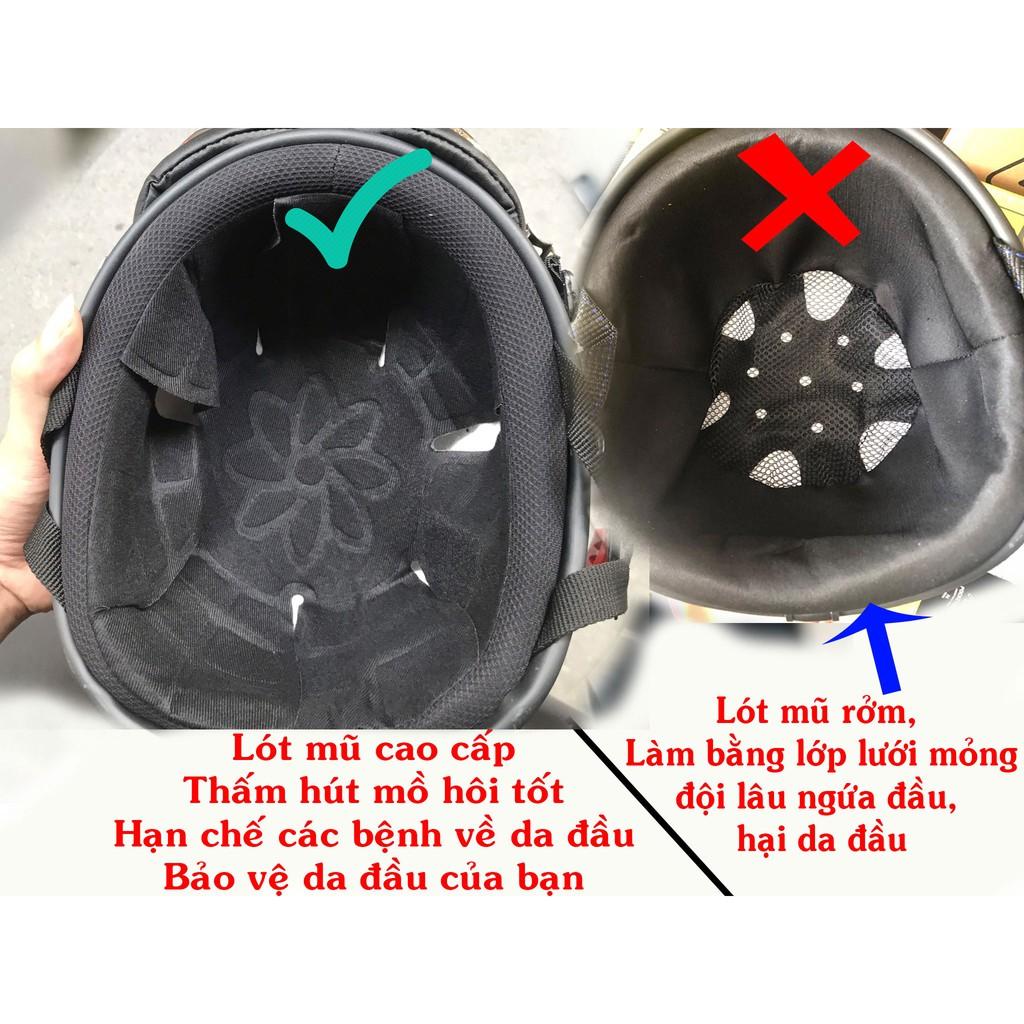 Mũ bảo hiểm cung Bọ Cạp (thần nông) 23/10 - 21/11 - 12 cung hoàng đạo - Mũ bảo hiểm đạt chuẩn hàng công ty loại 1
