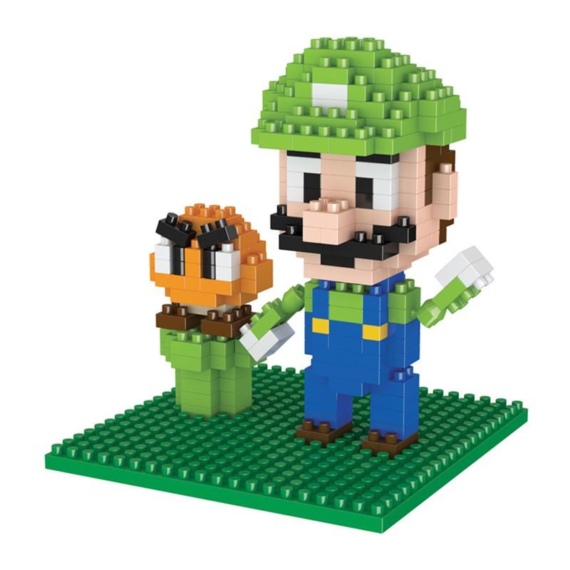 đồ chơi xếp hình super mario