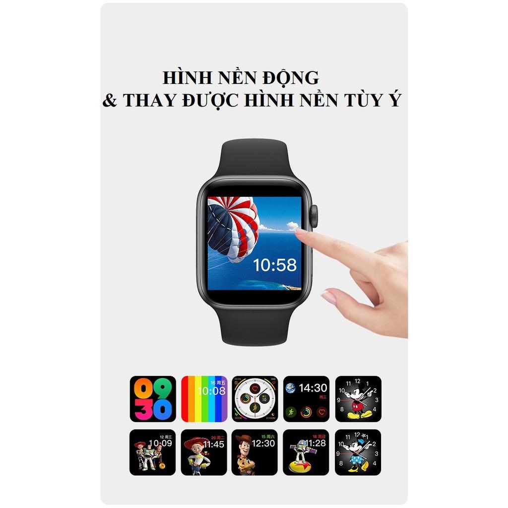 Smart watch  Hình nền động  Đồng hồ thông minh thay hình nền được, pin hơn 3 ngày.