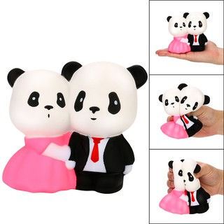 Jumbo Squishy Super Wedding Panda Super Slow Rising Squeeze Collection Toy Gift