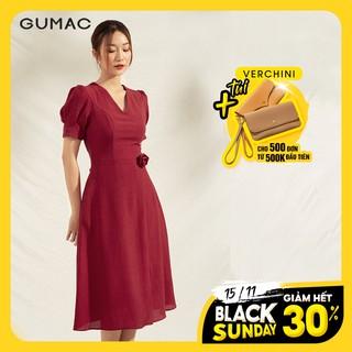 """Đầm cổ V tà đắp DA1109 GUMAC giá chỉ còn <strong class=""""price"""">31.200.000.000đ</strong>"""