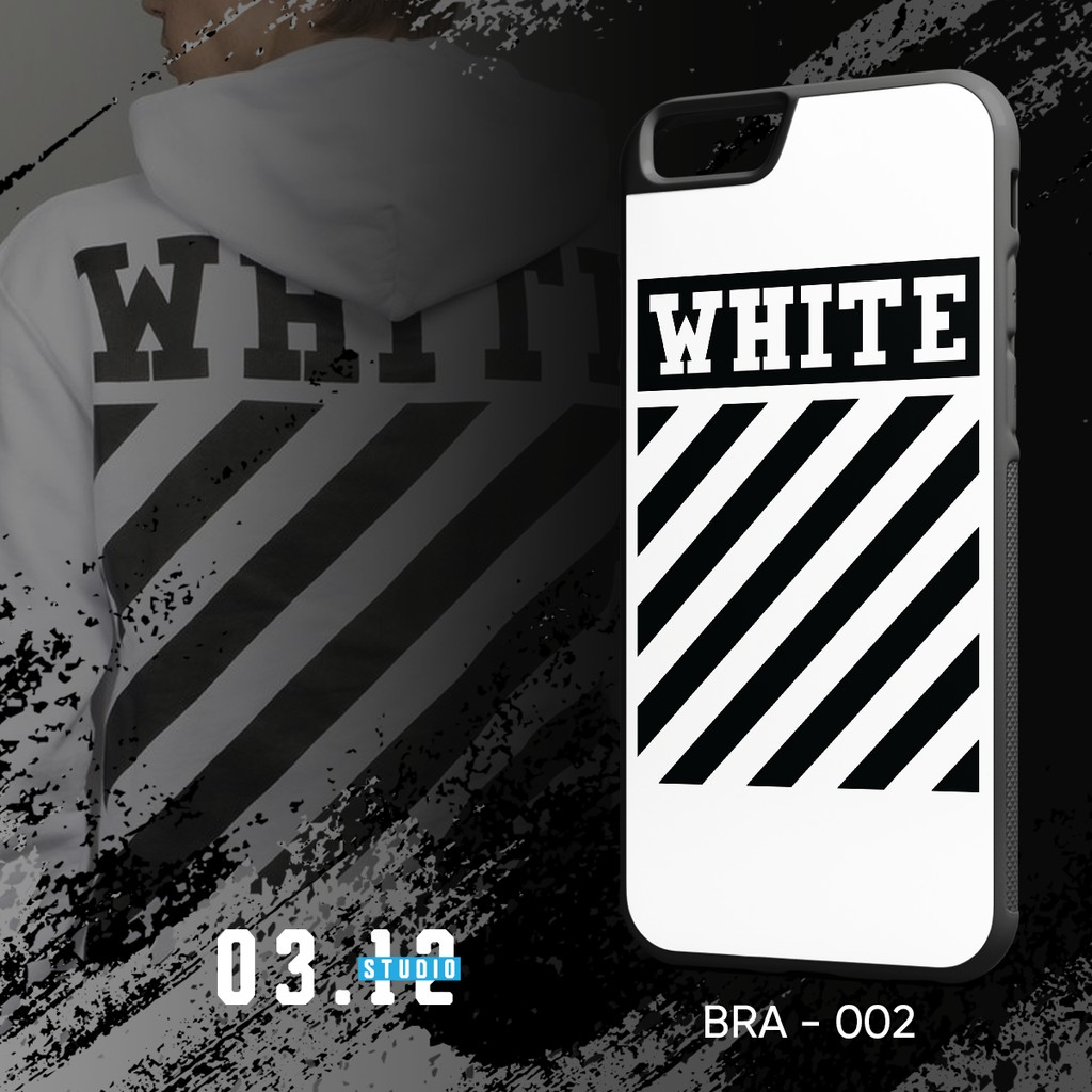 Case OFF WHITE Trắng   Ốp lưng OFF WHITE Trắng