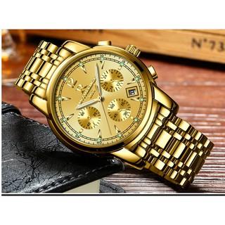 Đồng hồ nam dây thép 6 kim Ontheedge 036 (fullbox)