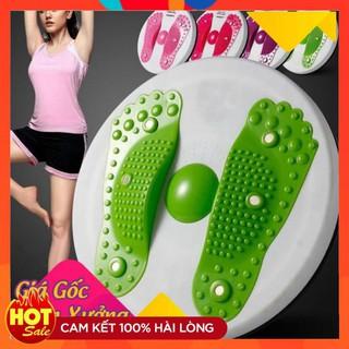 ĐĨA XOAY EO GIỮ DÁNG HÌNH BÀN CHÂN Hang Hot