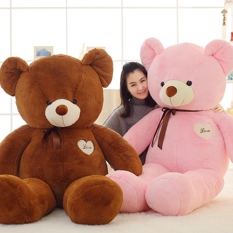 Gấu Teddy Bông Cute – Gấu Bông Làm Quà Tặng, Làm Gối Ôm Siêu Sướng