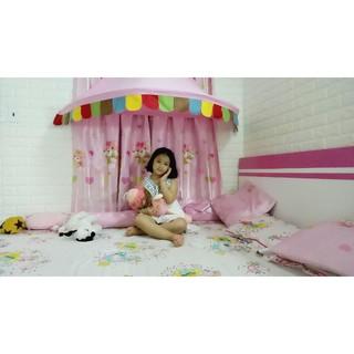 Lều treo tường ikea hồng