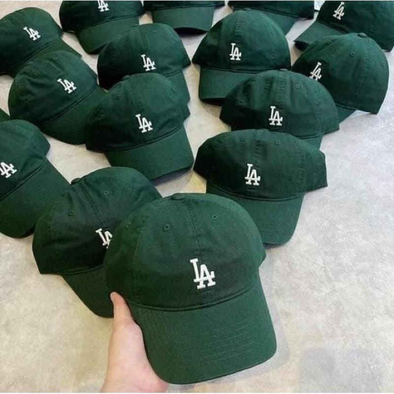 mũ MLB xanh rêu