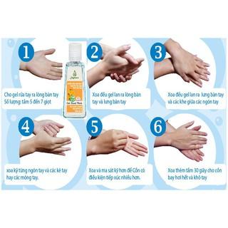 Gel rửa tay khô hương Lài 500ml JULYHOUSE-2