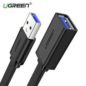 Cáp nối dài USB 3.0 dây dẹt dài 0.5M âm dương chính hãng Ugreen 30128 cao cấp Giá chỉ 120.000₫