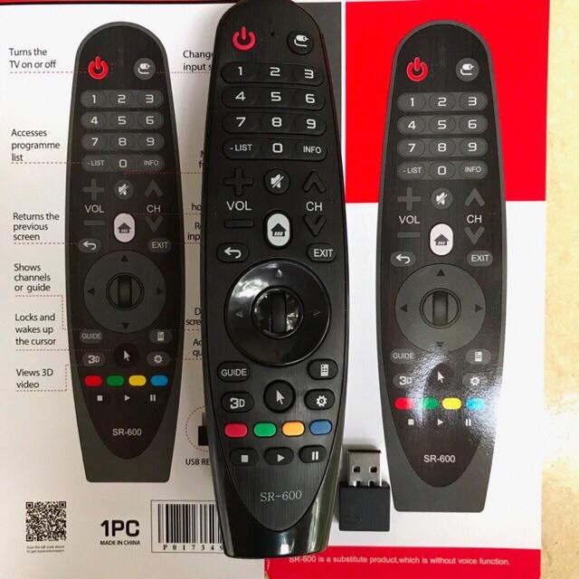 điều khiển TiVi LG USB - điều khiển tivi LG - Remote tivi 4K LG .
