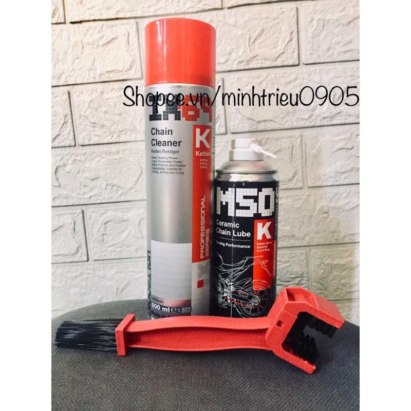 Combo vệ sinh sên/ dưỡng sên IX69-M50
