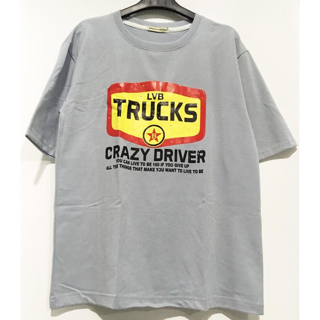 Áo thun form rộng tay lỡ Truck xanh - 9997620 , 695036056 , 322_695036056 , 90000 , Ao-thun-form-rong-tay-lo-Truck-xanh-322_695036056 , shopee.vn , Áo thun form rộng tay lỡ Truck xanh