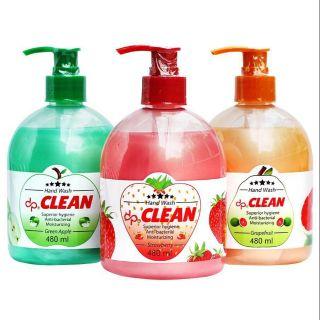 Sữa rửa tay dp CLEAN 480ml diệt khuẩn.