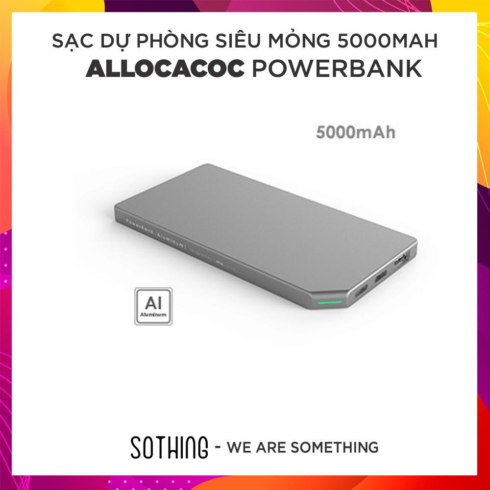 Sạc dự phòng siêu mỏng Allocacoc PowerBank Slim 5000mAh