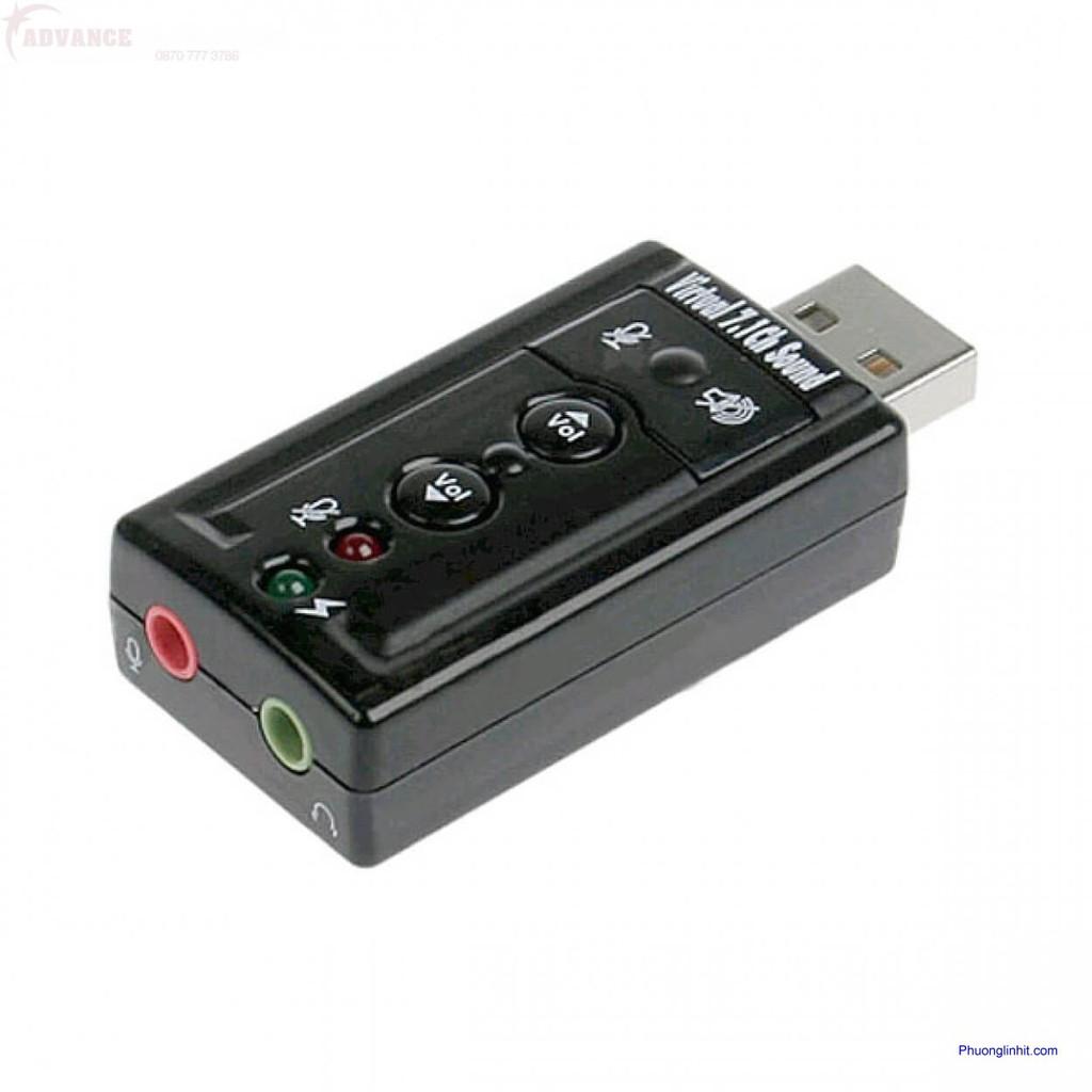 ? USB RA SOUND 7.1 ÂM THANH 3D