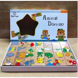 Đồ chơi Domino động vật nối tiếp