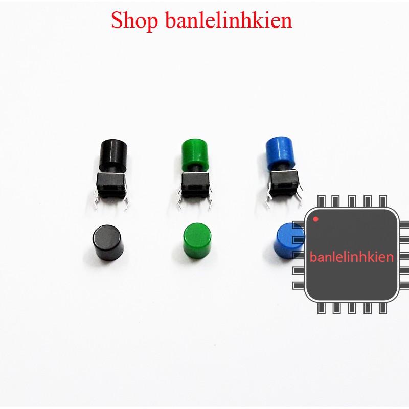 Nắp nhựa màu A56 cho nút bấm reset 6x6x11
