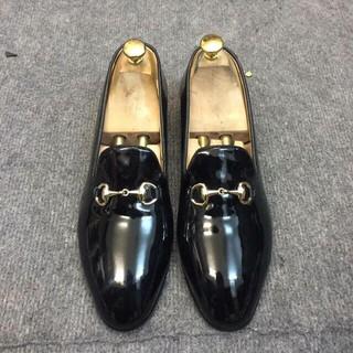 Giày Loafers Bóng