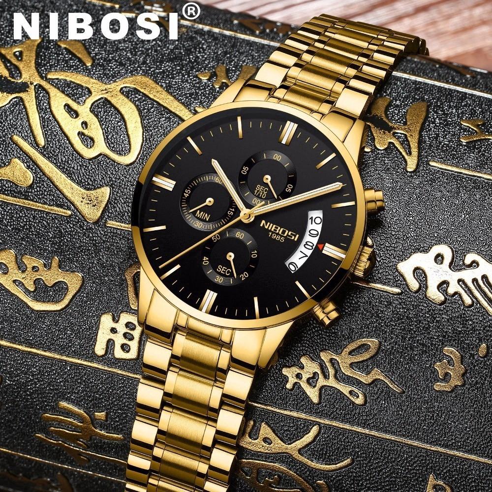 NIBOSI Không Thấm Nước Casual Watch Men Luxury Hiệu Quartz Quân Sport Xem Thép Đồng Hồ Đeo Tay Nam - 15349689 , 1380530682 , 322_1380530682 , 260000 , NIBOSI-Khong-Tham-Nuoc-Casual-Watch-Men-Luxury-Hieu-Quartz-Quan-Sport-Xem-Thep-Dong-Ho-Deo-Tay-Nam-322_1380530682 , shopee.vn , NIBOSI Không Thấm Nước Casual Watch Men Luxury Hiệu Quartz Quân Sport Xe