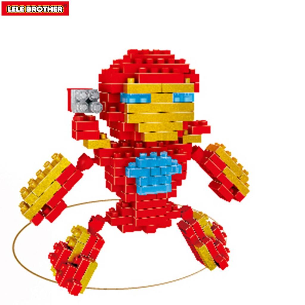 Bộ lắp ráp Người sắt Iron man Lele Brother NanoBlock (6195)
