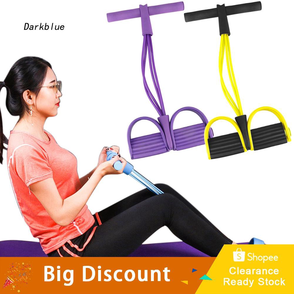 DKBL_Abdominal Tummy Exercise Fitness Sport Pedal Yoga Resistance Band Equipment