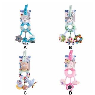 Se7en Crib baby carriage cute animal cartoon stroller hanging toy filling doll